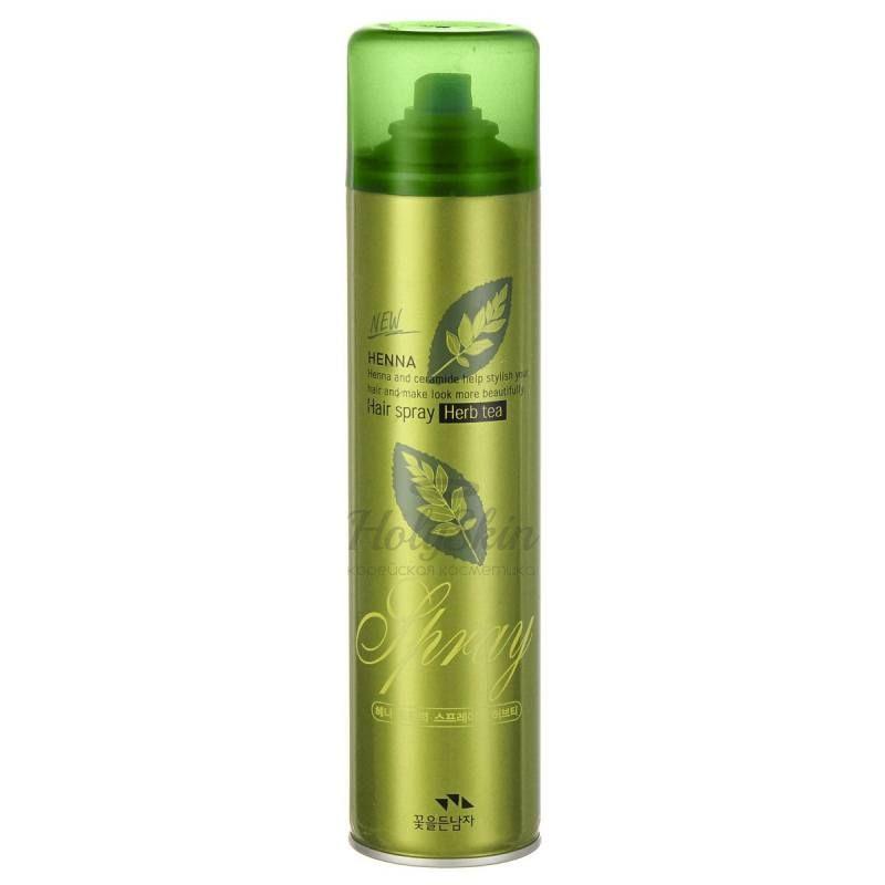 Купить Лак для укладки волос Somang, Henna Hair Spray Herb Tea, Южная Корея