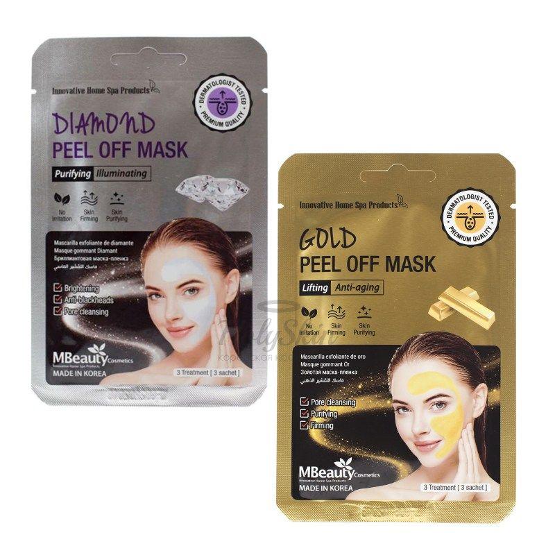 Маска-пленка для лица MBeauty — Mbeauty Peel Off Mask