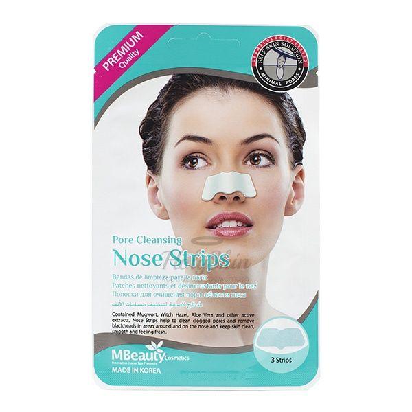 Маски-полоски для очищения пор носа MBeauty Pore Cleansing Nose Strips фото