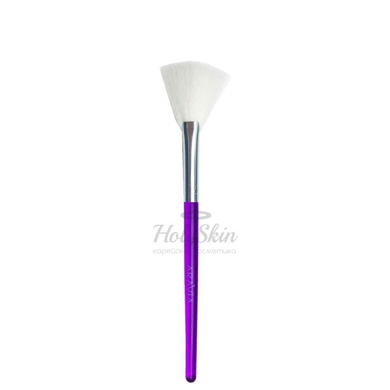 Веерная кисть для нанесения пилингов Aravia Professional — Aravia Professional Кисть для нанесения пилингов
