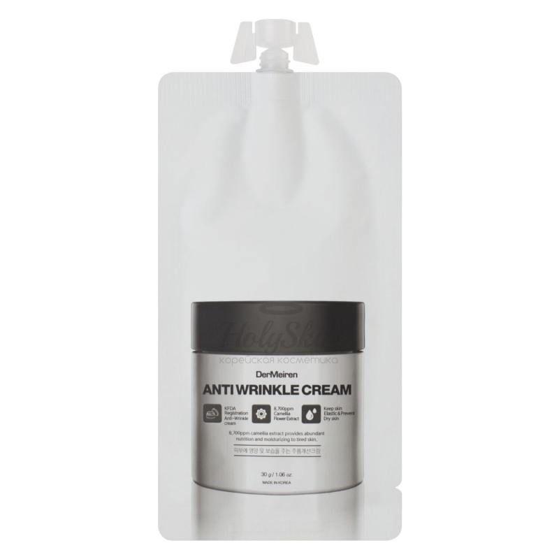 Купить Крем антивозрастной с экстрактом камелии DerMeiren, DerMeiren Anti Wrinkle Cream, Южная Корея