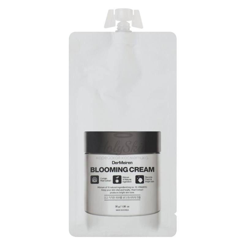 Купить Крем для выравнивания тона лица с экстрактом жемчуга DerMeiren, DerMeiren Blooming Cream, Южная Корея