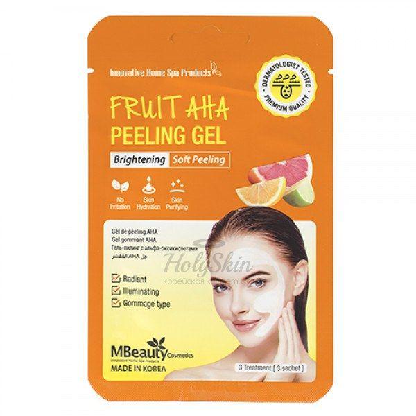 Купить Мягкий отшелушивающий гель с фруктовыми кислотами MBeauty, Fruit AHA Peeling GelFruit AHA Peeling Gel, Южная Корея