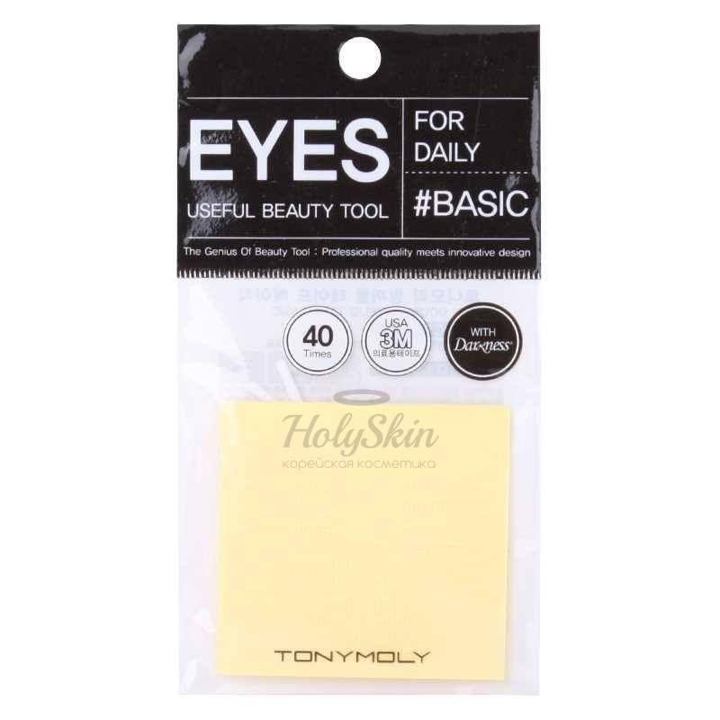 Скотч для создания второго века Tony Moly Eyelash Tape Basic фото