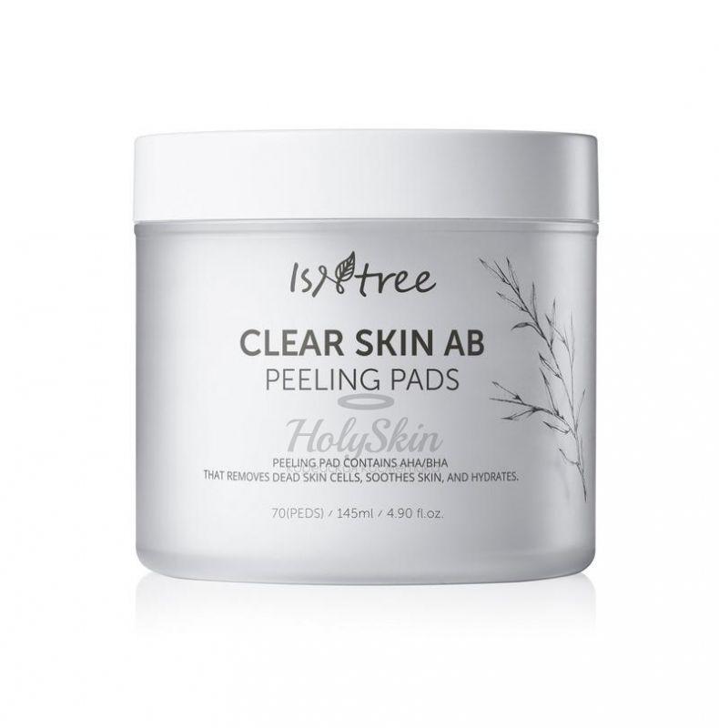 Салфетки для пилинга IsNtree — Clear Skin AB Peeling Pads