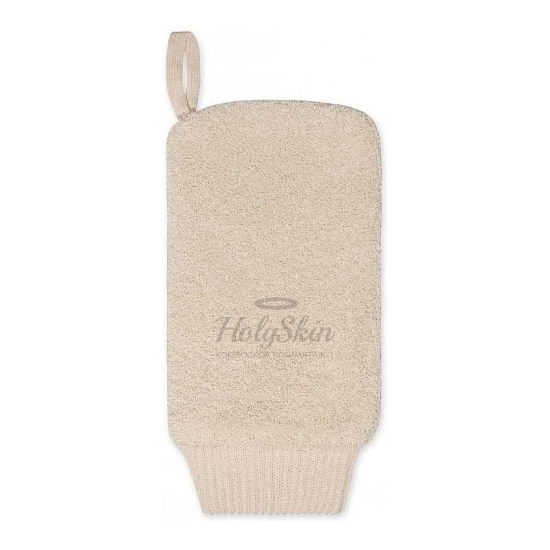 Купить Натуральная мочалка-рукавица для тела из хлопка Vival, Мочалка рукавица хлопковая, Россия