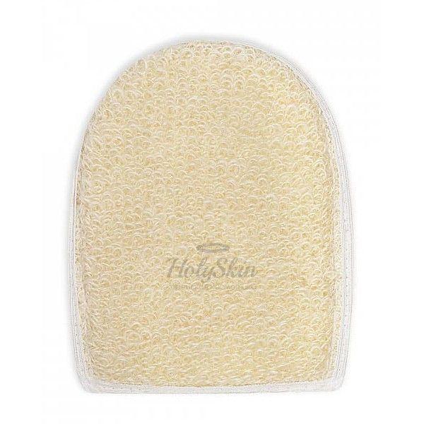 Купить Мочалка-рукавица из натурального волокна крапивы Vival, Мочалка рукавица рами крапива, Россия