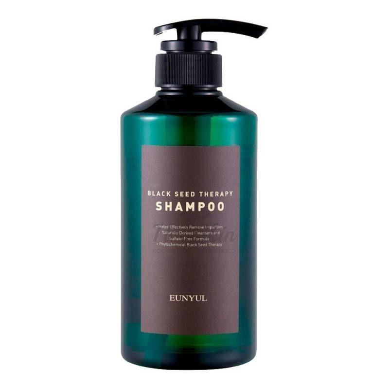 Шампунь для волос с маслом черного тмина Eunyul Black Seed Therapy Shampoo фото