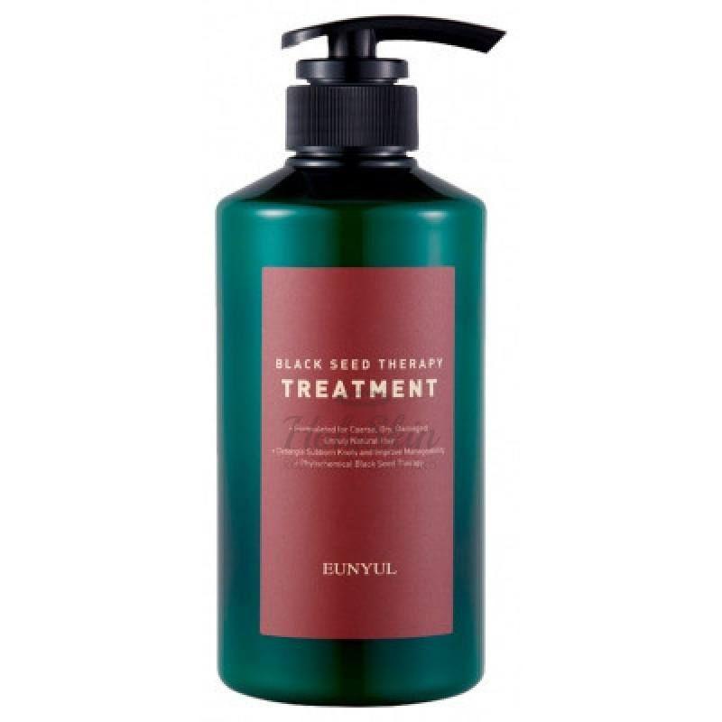 Купить Бальзам для волос с маслом черного тмина Eunyul, Black Seed Therapy Treatment, Южная Корея