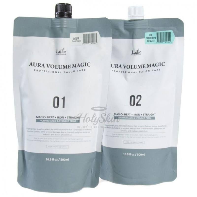 Купить Стайлинг программа для поврежденных волос La'dor, Aura Volume Magic Damaged, Южная Корея