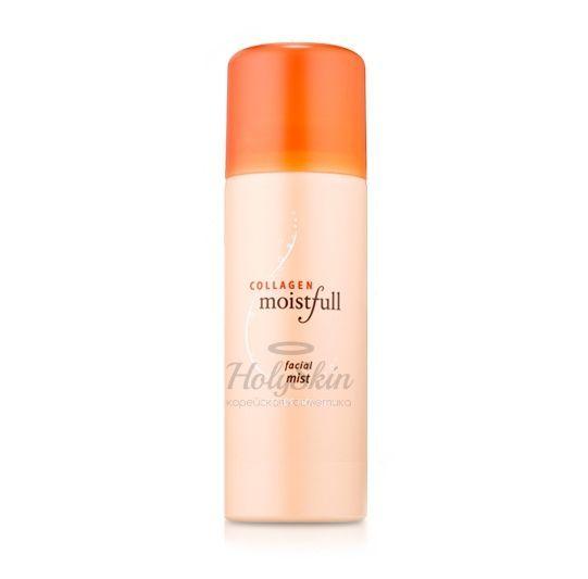 Купить Увлажняющий спрей для лица с коллагеном Etude House, Moistfull Collagen Facial Mist, Южная Корея