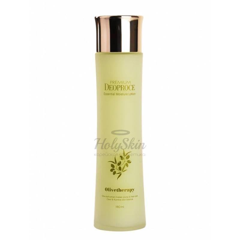 Купить Увлажняющий лосьон для лица с маслом оливы Deoproce, Olive Therapy Essential Moisture Lotion, Южная Корея
