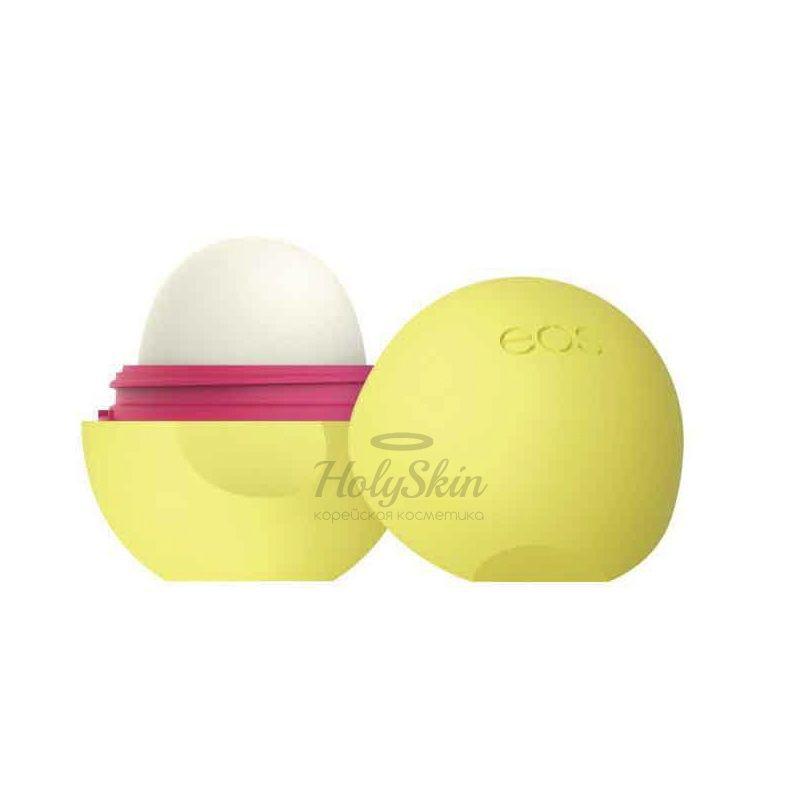 Бальзам для губ с ароматом ананаса и маракуйи EOS Smooth Sphere Lip Balm Pineapple Passionfruit фото