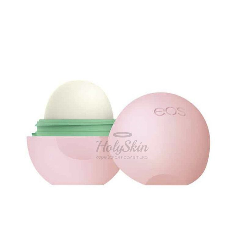 Бальзам для губ с ароматом абрикоса EOS Smooth Sphere Lip Balm Apricot фото