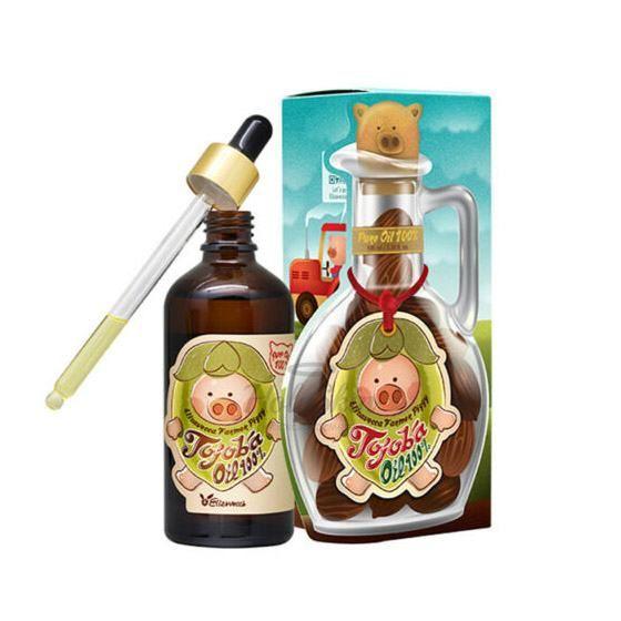 Купить Концентрированная сыворотка с маслом жожоба Elizavecca, Farmer Piggy Jojoba Oil, Южная Корея