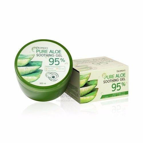 Купить Многофункциональный гель с алоэ Deoproce, Deoproce Pure Aloe Soothing Gel 95%, Южная Корея