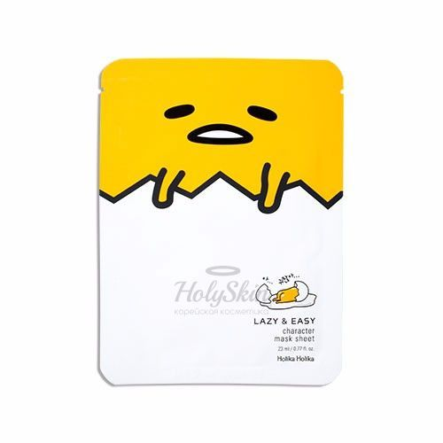 Gudetama Lazy And Easy Character Mask Sheet Holika Holika отзывы