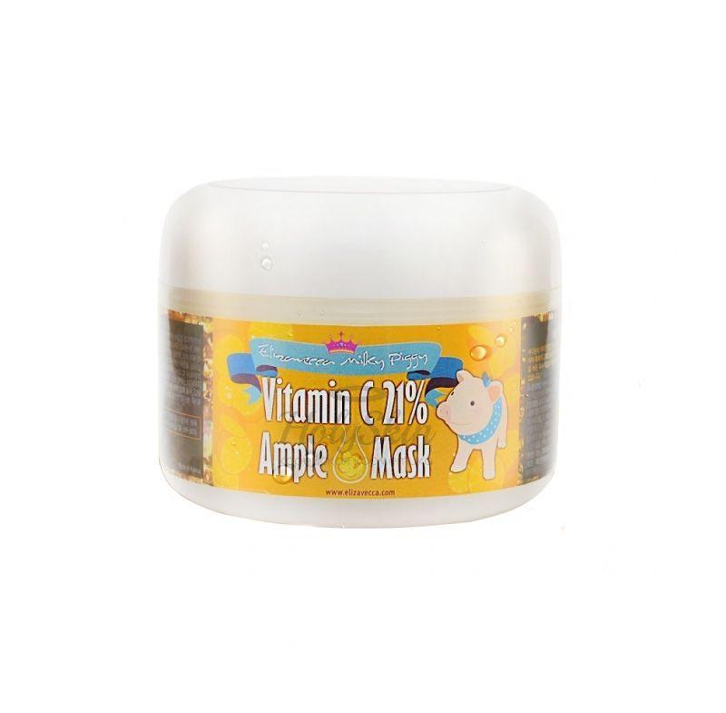 Купить Тонизирующая маска с витамином C Elizavecca, Milky Piggy Vitamin C 21% Ample Mask, Южная Корея