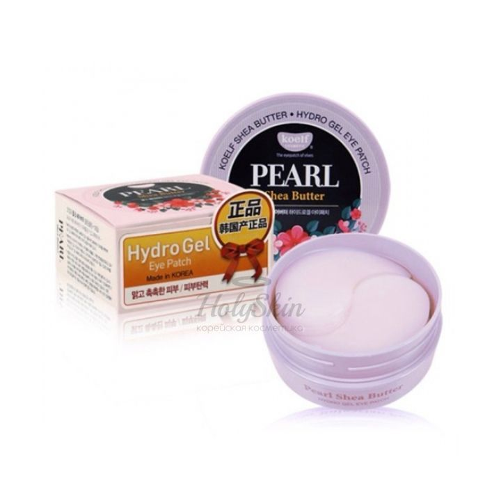 Гидрогелевые патчи для глаз Koelf Koelf Pearl and Shea Butter Hydro Gel Eye Patch фото