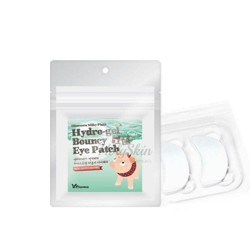 Купить Гидрогелевые патчи для глаз Elizavecca, Hydro-Gel Bouncy Eye Patch, Южная Корея