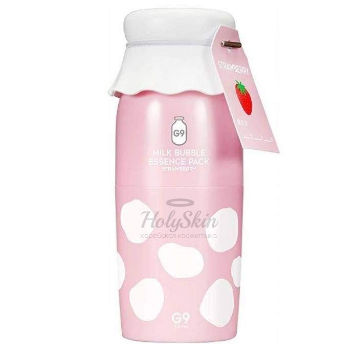 Milk Bubble Essence Pack G9SKIN отзывы