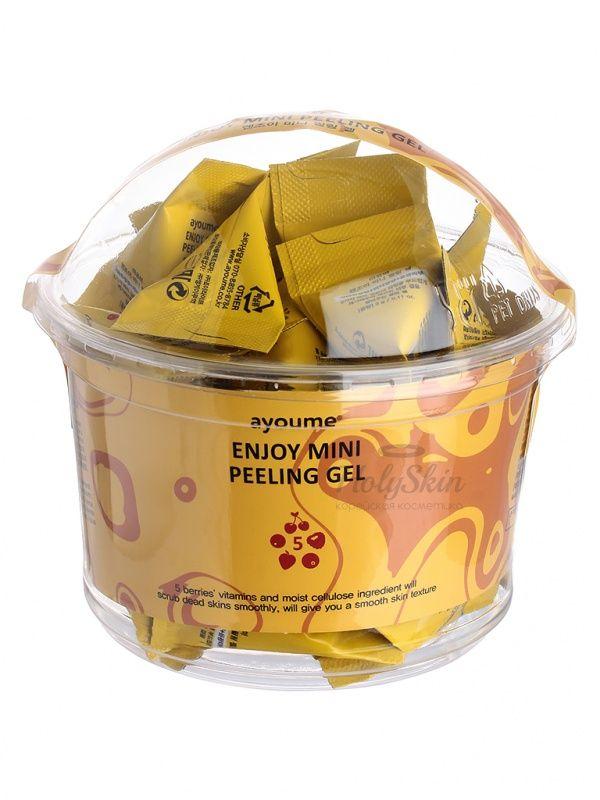 Купить Пилинг-гель для лица в пирамидках Ayoume, Enjoy Mini Peeling Gel, Южная Корея