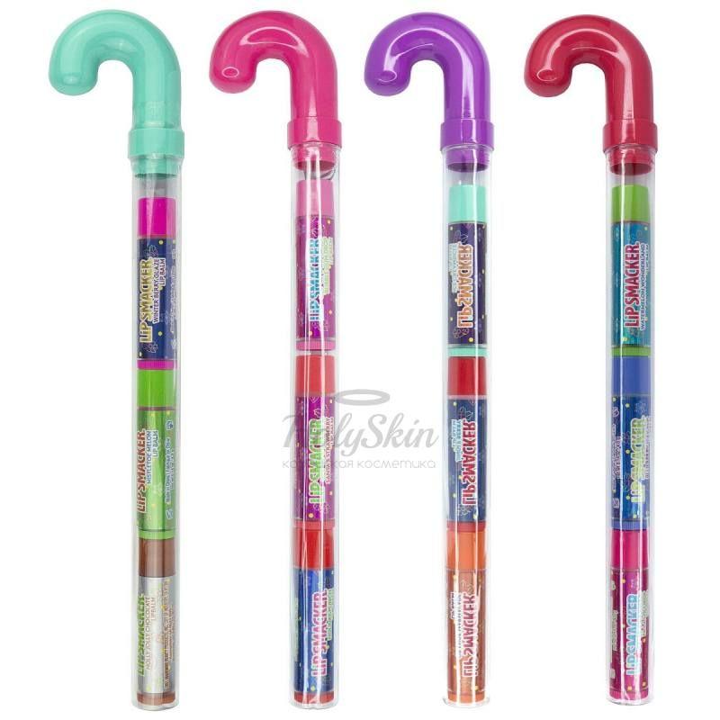Подарочный набор бальзамов для губ Lip Smacker — Lip Smacker Trio Cane