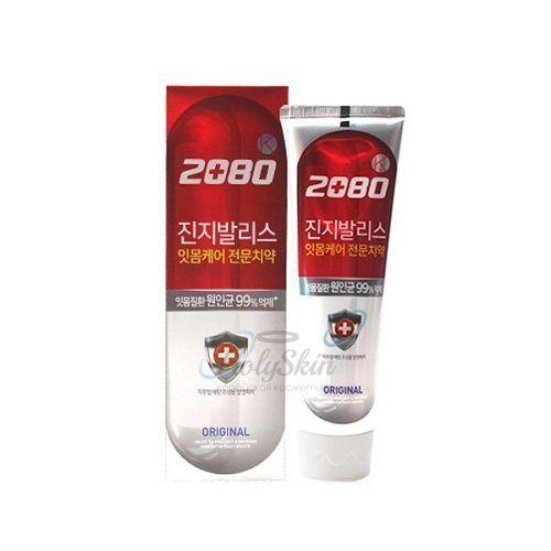 Купить Зубная паста для доровьея десен с экстрактом Гинкго билоба Kerasys, Dental Clinic 2080 K Original, Южная Корея