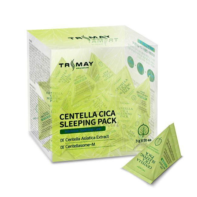 Купить Успокаивающая ночная маска для лица с центеллой Trimay, Centella Cica Sleeping Pack, Южная Корея