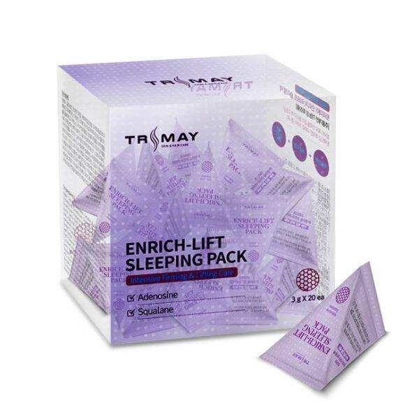 Купить Разглаживающая ночная маска для лица Trimay, Enrich-Lift Sleeping Pack, Южная Корея