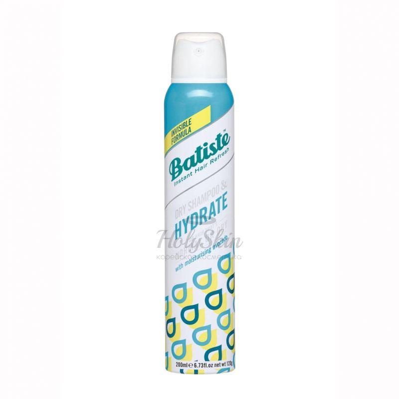 Купить Сухой увлажняющий шампунь для сухих и нормальных волос Batiste, Batiste Dry Shampoo Hydrate, Великобритания