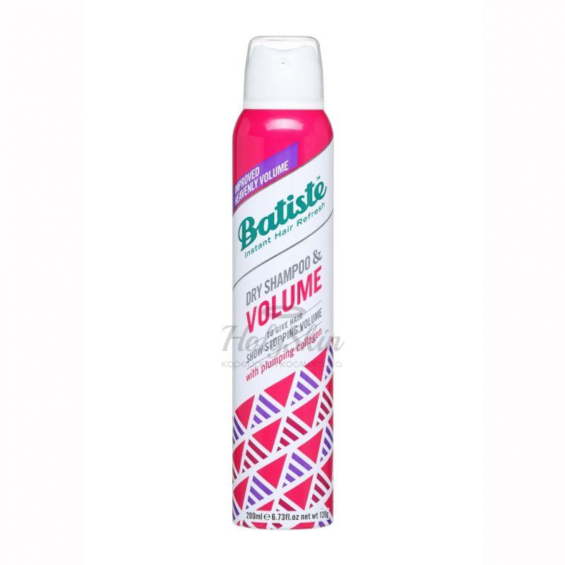 Сухой шампунь с невидимой формулой для объема волос Batiste Batiste Dry Shampoo Volume фото