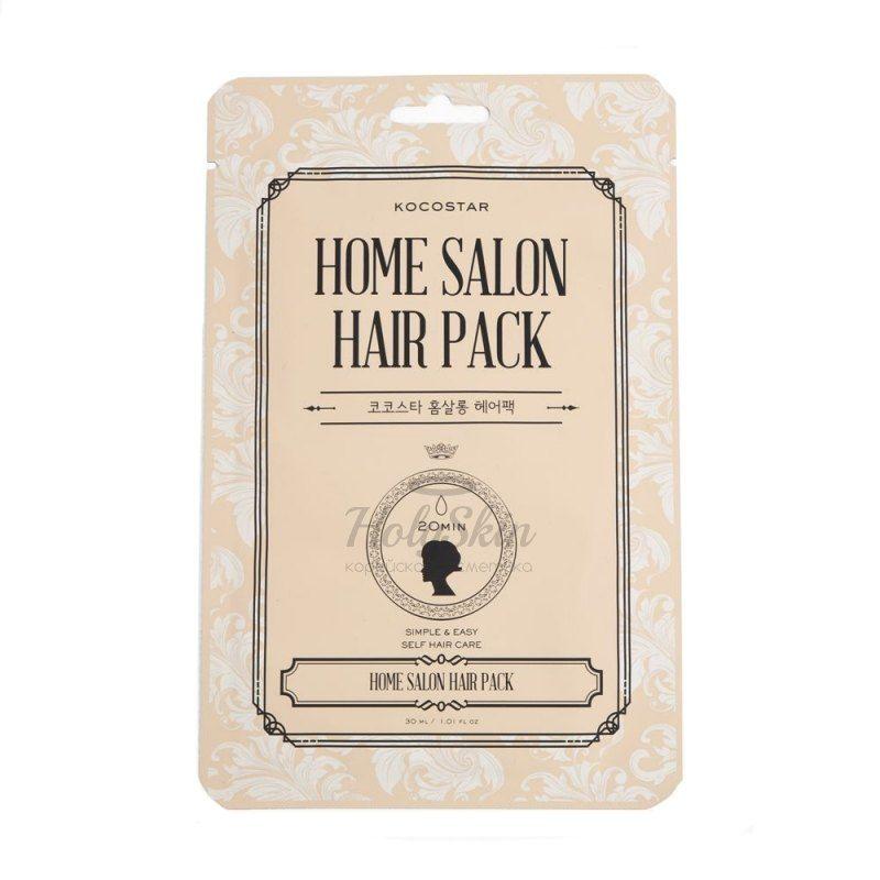 Купить Восстанавливающая маска для волос Kocostar, Home Salon Hair Pack, Южная Корея