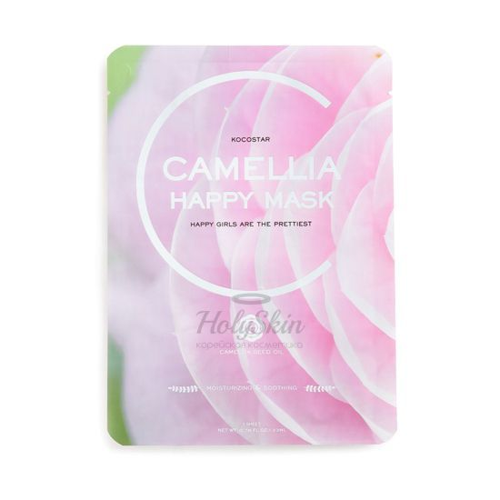 Kocostar Camellia Happy Mask description