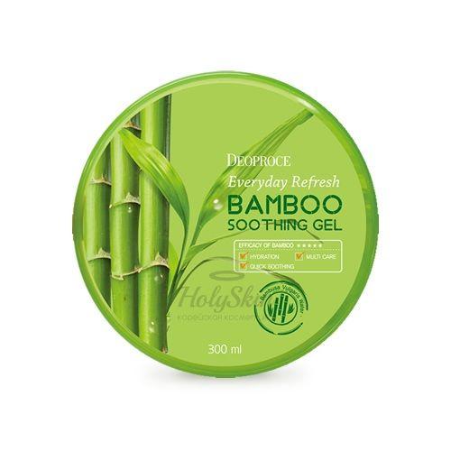 Купить Универсальный гель с бамбуком Deoproce, Everyday Refresh Bamboo Soothing Gel, Южная Корея