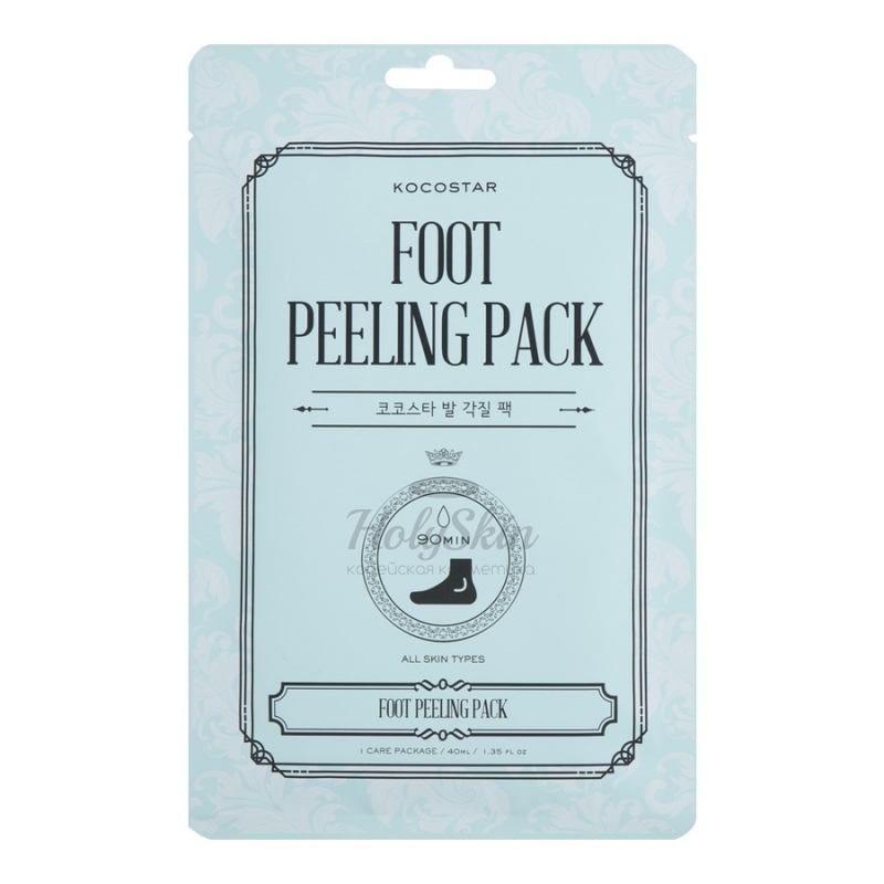 Пилинговые носочки Kocostar — Kocostar Foot Peeling Pack