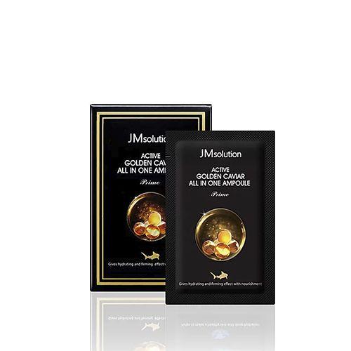 Сыворотка 3 в 1 с экстрактом икры и золотом JMsolution