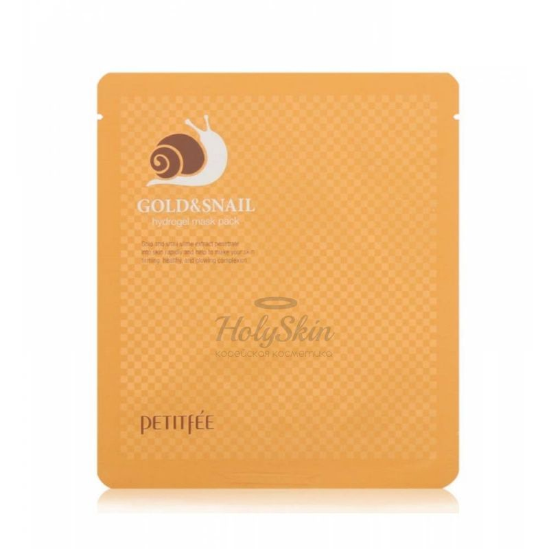 Petitfee Gold & Snail Hydrogel Mask Pack description