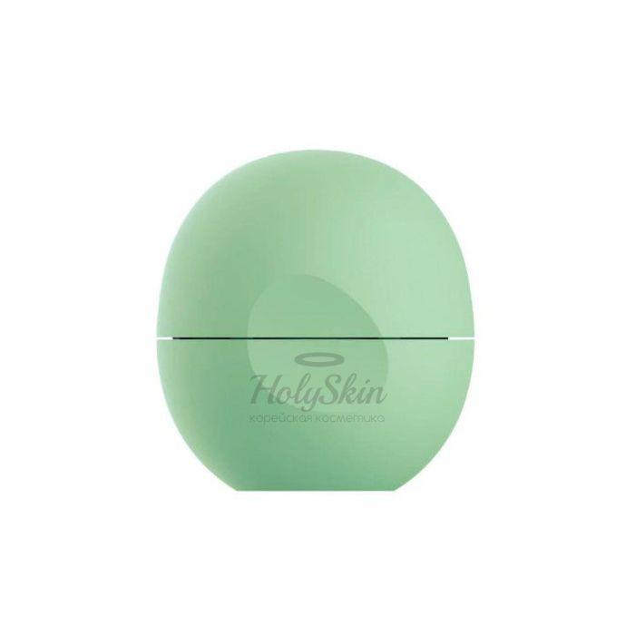 Купить Бальзам для губ с ароматом мяты EOS, Smooth Sphere Lip Balm Triple Mint, Южная Корея