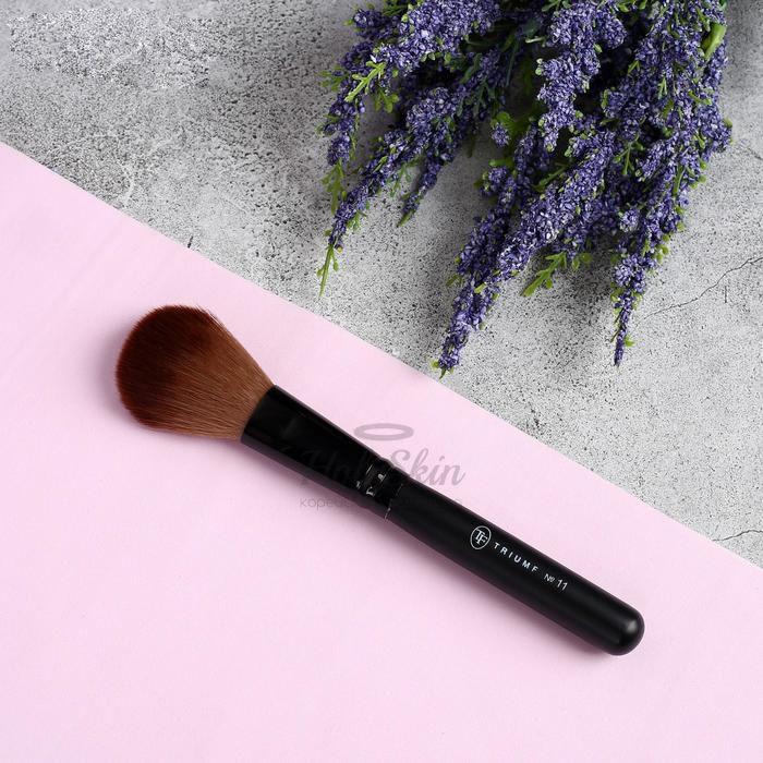 Кисть для макияжа HS — Кисть для макияжа 14,5 см чёрная