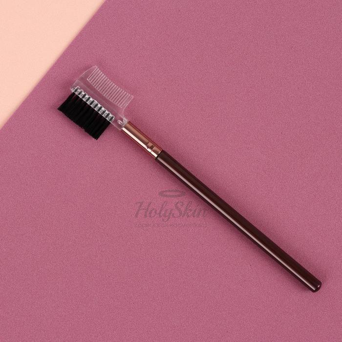 Щёточка-расчёска для бровей и ресниц HS — Щёточка-расчёска для бровей и ресниц коричневая/бронзовая