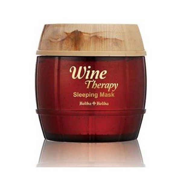 Ночная маска Holika Holika Wine Therapy Sleeping Mask (Red Wine) фото