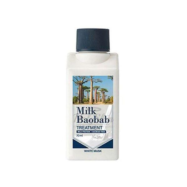 Купить Бальзам для волос с ароматом белого мускуса Milk Baobab, Treatment White Musk Travel Edition, Южная Корея