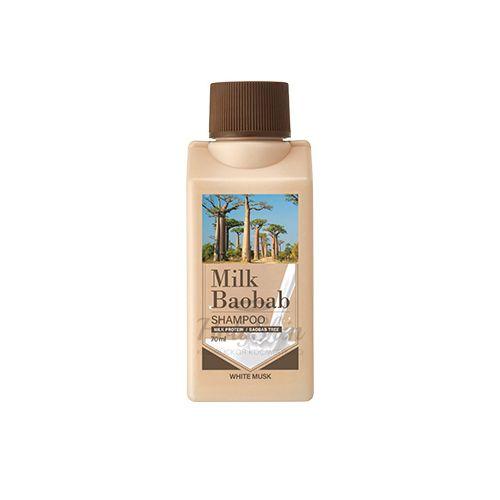 Шампунь для волос с ароматом белого мускуса Milk Baobab