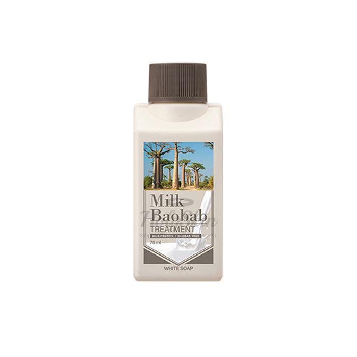Купить Бальзам для волос с ароматом белого мыла Milk Baobab, Treatment White Soap Travel Edition, Южная Корея