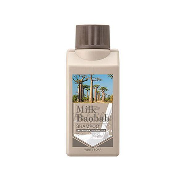 Шампунь для волос с ароматом белого мыла Milk Baobab