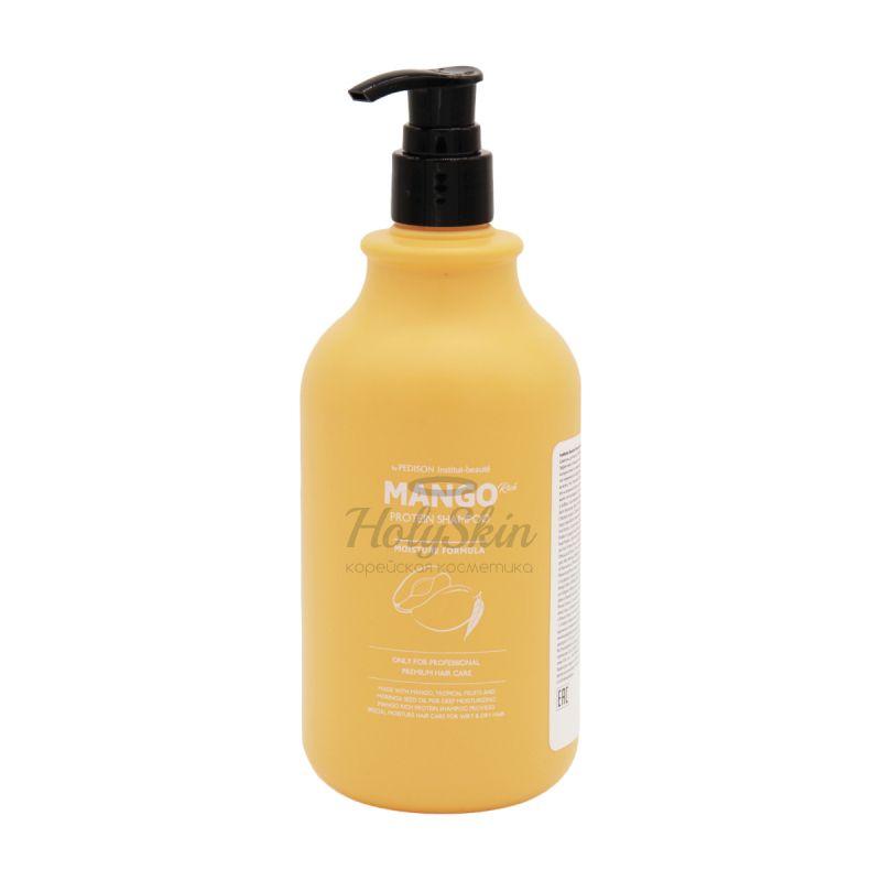 Шампунь с экстрактом манго для сухих волос Evas