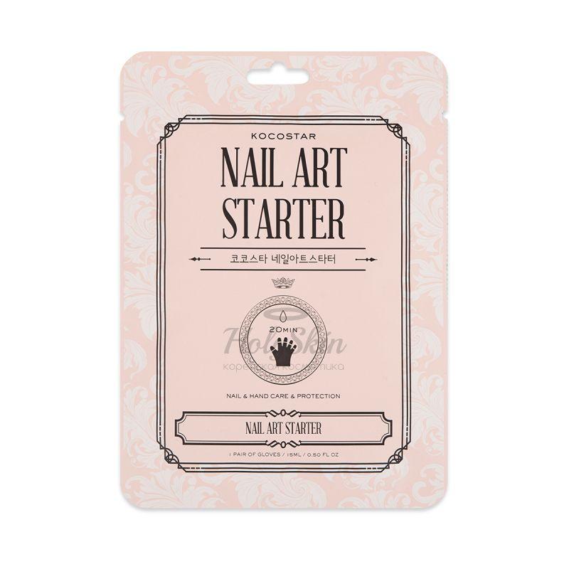 Маска-перчатки для рук и ногтей Питание и защита Kocostar — Nail Art Starter