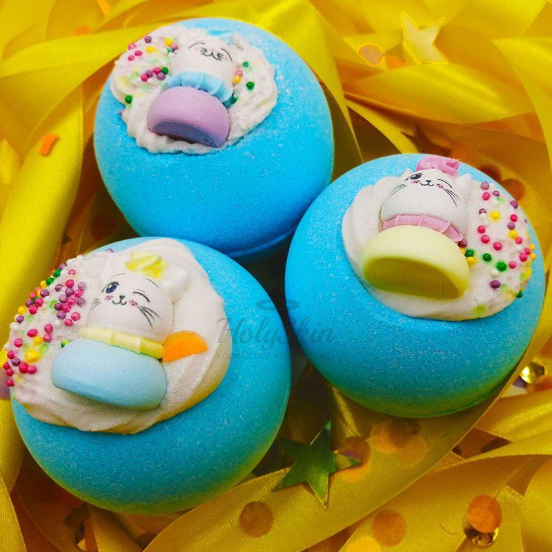 Купить Бомбочка для ванны со сладким ароматом фруктов Boom Shop, Бомба для ванны Мур-мур, Россия