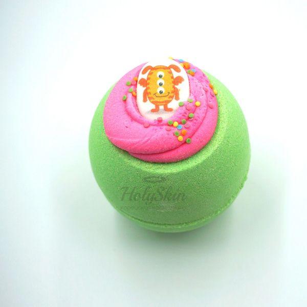 Купить Бомбочка для ванны с сочным ароматом арбузной сладости и свежести Boom Shop, Бомба для ванны Монстрик, Россия